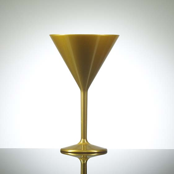 ELITE PREMIUM GOLD 7OZ MARTINI